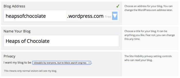 create blog for ipad app